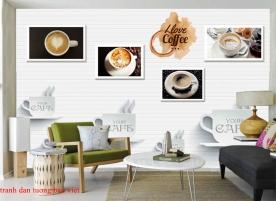 Tranh dán tường cho quán cafe me022