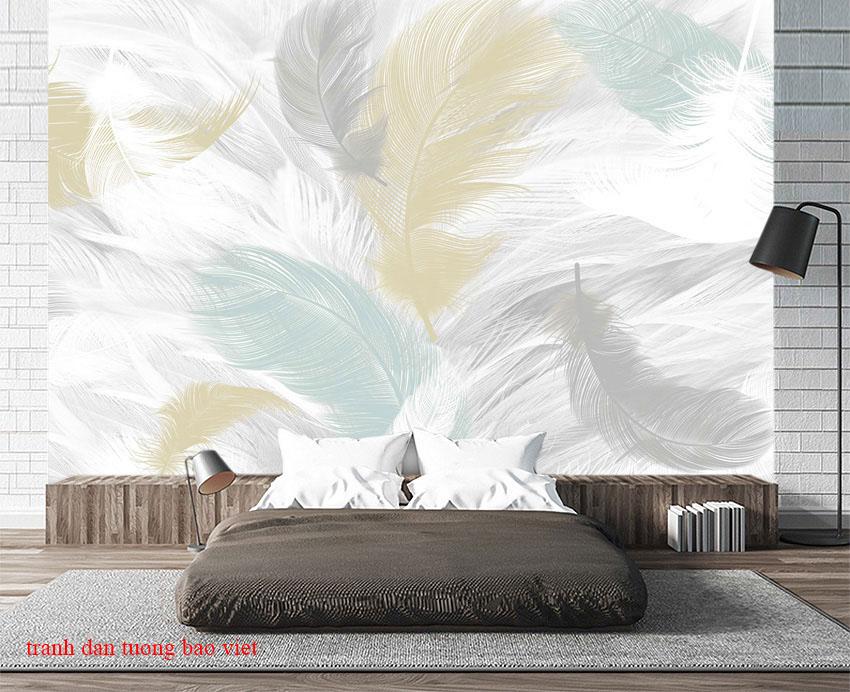 Những mẫu giấy dán tường phòng ngủ đẹp hiện đại