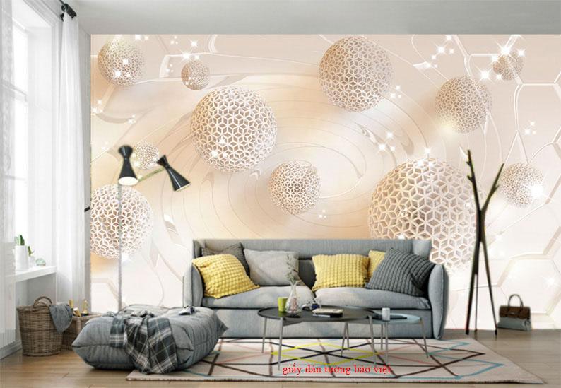 Những mẫu giấy dán tường 3D được ưa chuộng