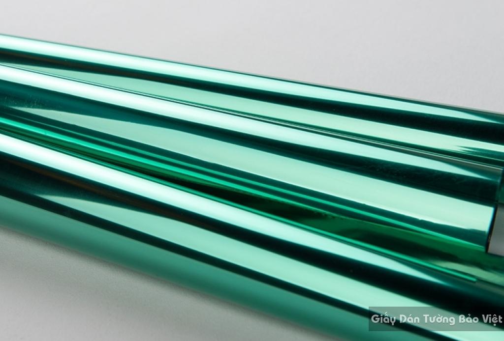 Dán kính chống nắng màu xanh ngọc