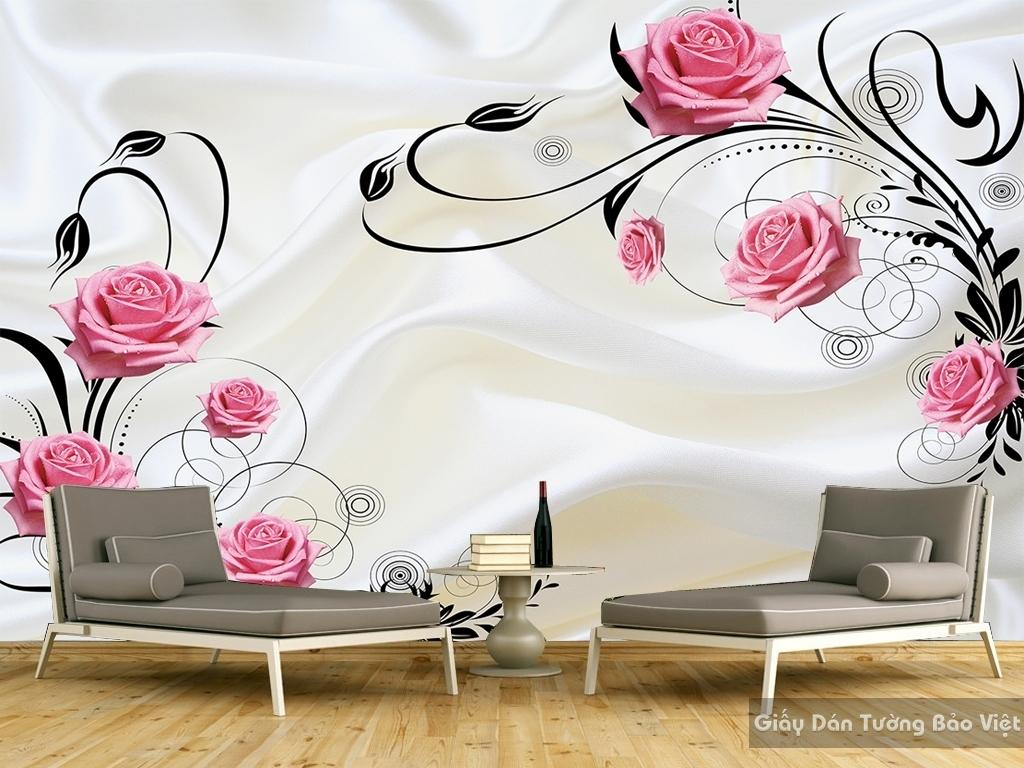 Decal dán tường & kính 3D FL013