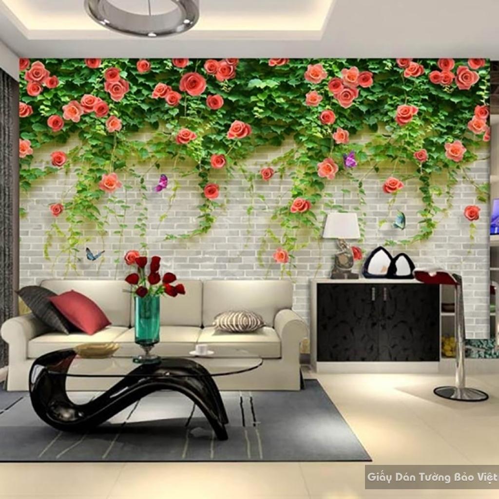 Decal dán tường & kính 3D FL019