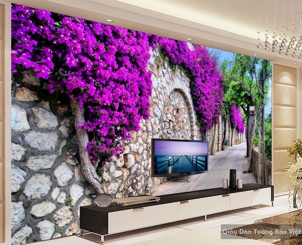 Decal dán tường & kính 3D Fm036