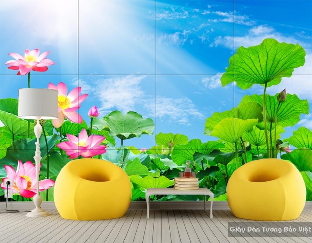 Gạch ốp tường Hoa Sen 3D H070
