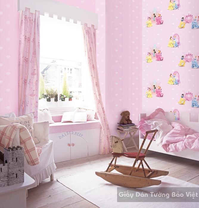 Giấy Dán Tường Phòng ngủ D5043-1m