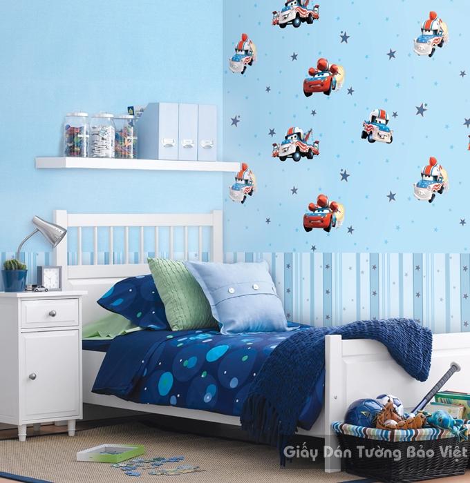 Giấy Dán Tường Phòng ngủ D5045-1m