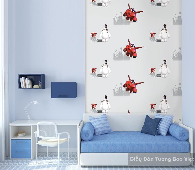 Giấy Dán Tường Phòng ngủ D5079-1m