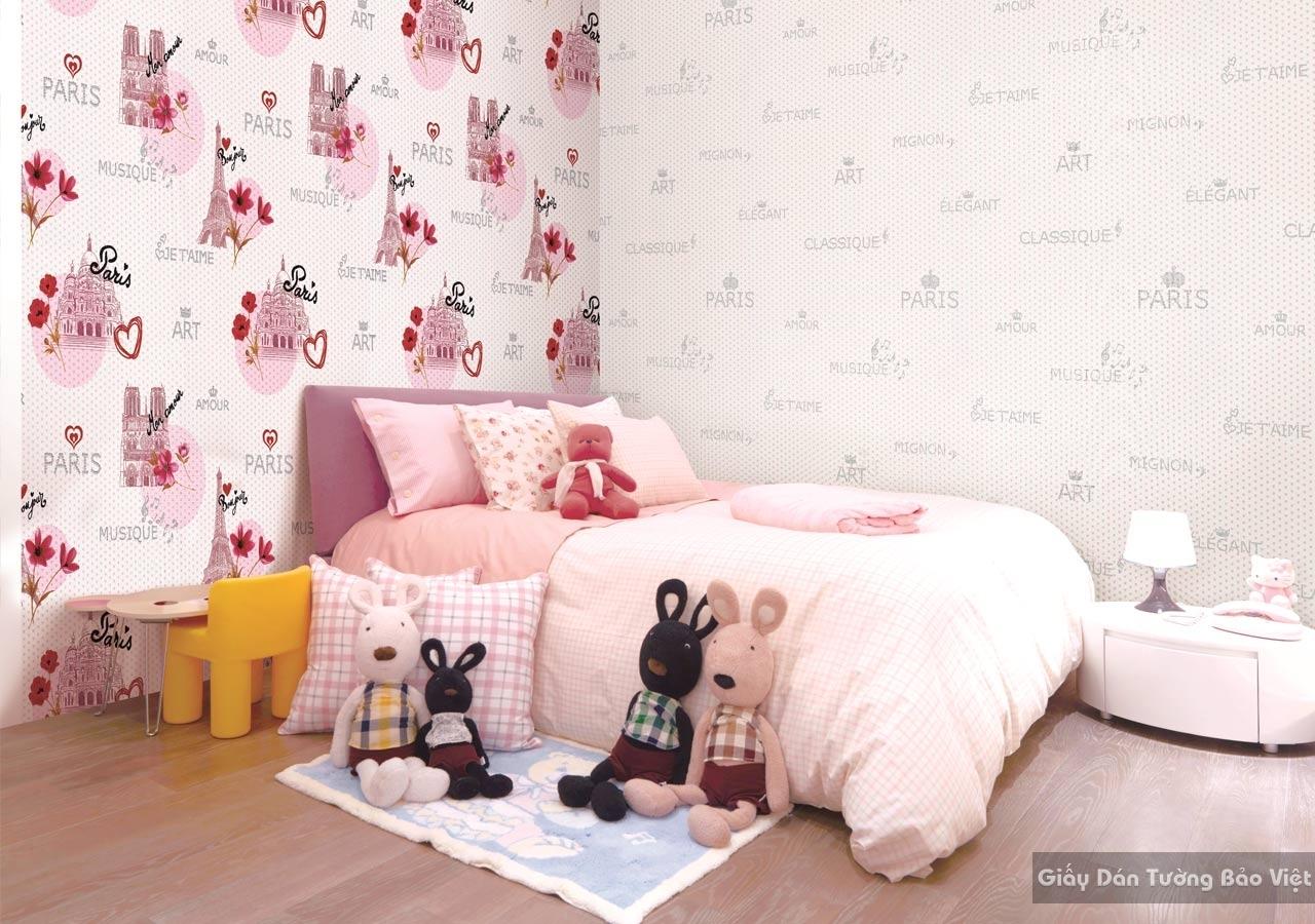 Giấy Dán Tường Phòng ngủ GK014-1