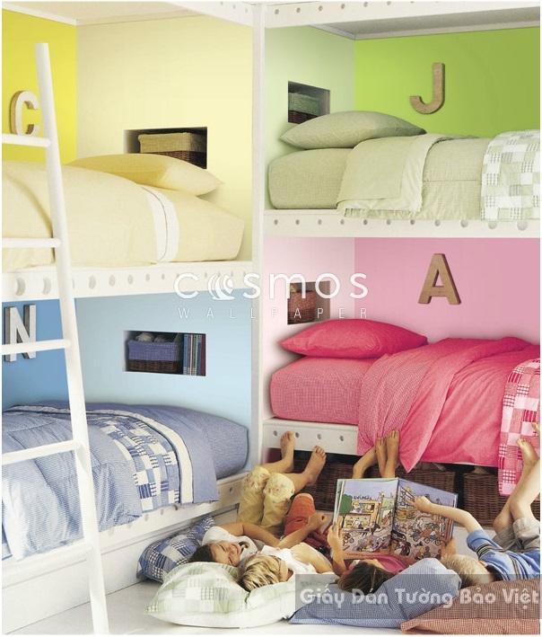 Giấy Dán Tường Phòng ngủ SH022-1