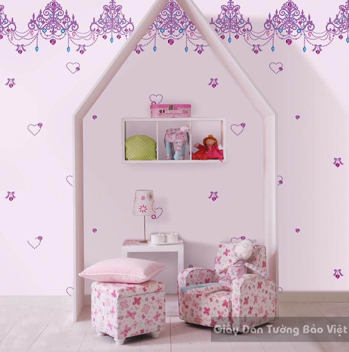 Giấy Dán Tường Phòng trẻ em-A1017-2m