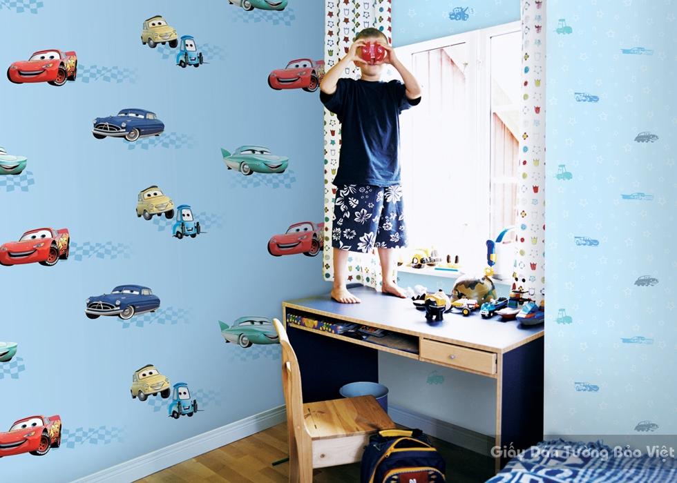 Giấy Dán Tường Phòng trẻ em-D1021-1m