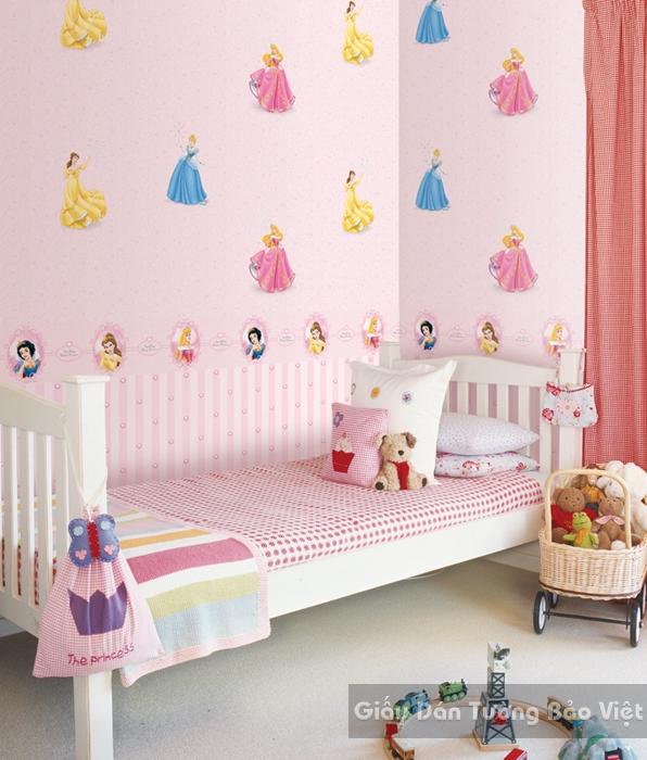 Giấy Dán Tường Phòng trẻ em-D1025-1m