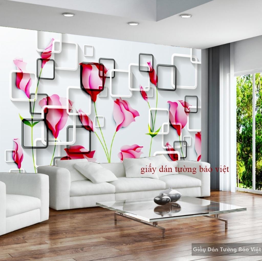 Giấy dán tường 3D-018