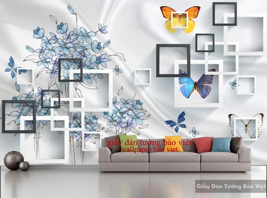 Giấy dán tường 3D-028