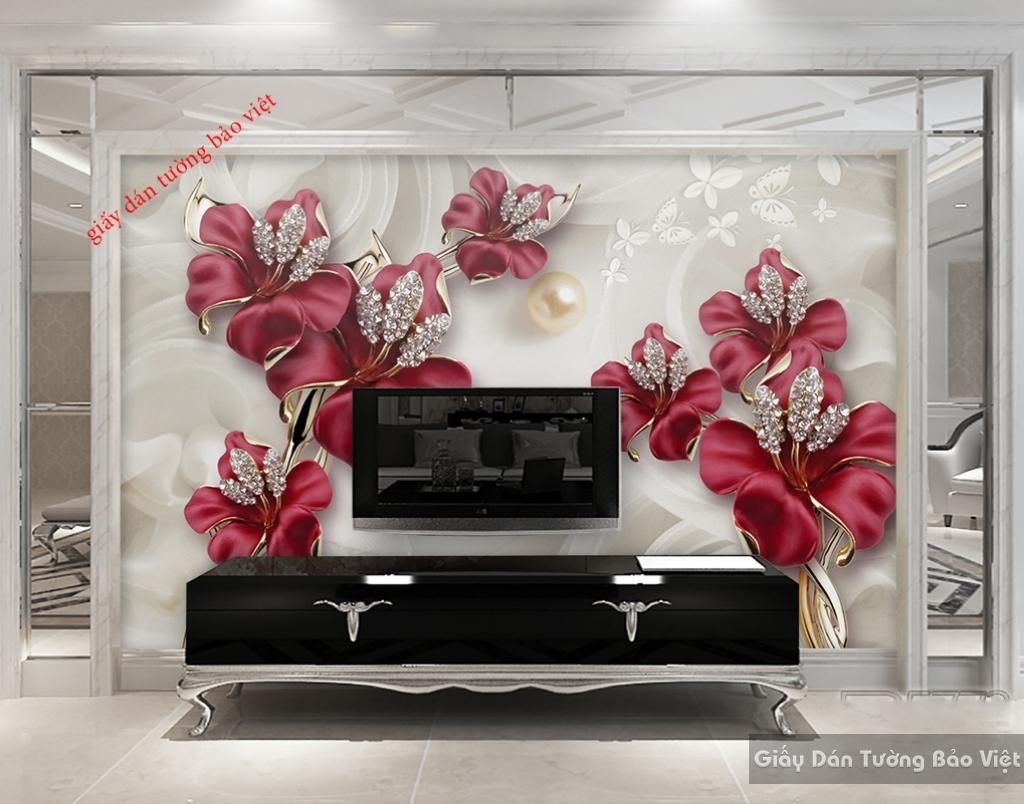 Giấy dán tường 3D-FL054