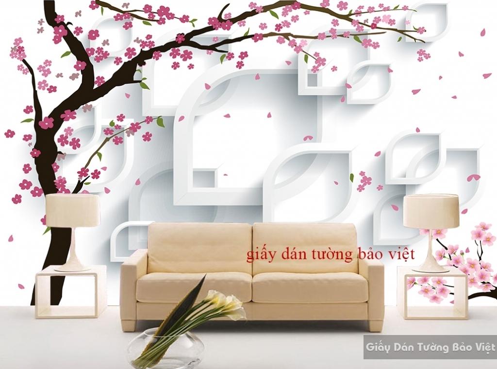 Giấy dán tường 3D K16438350