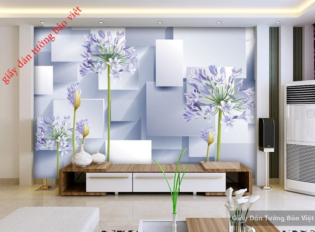 Giấy dán tường 3D đẹp giá rẻ FL023
