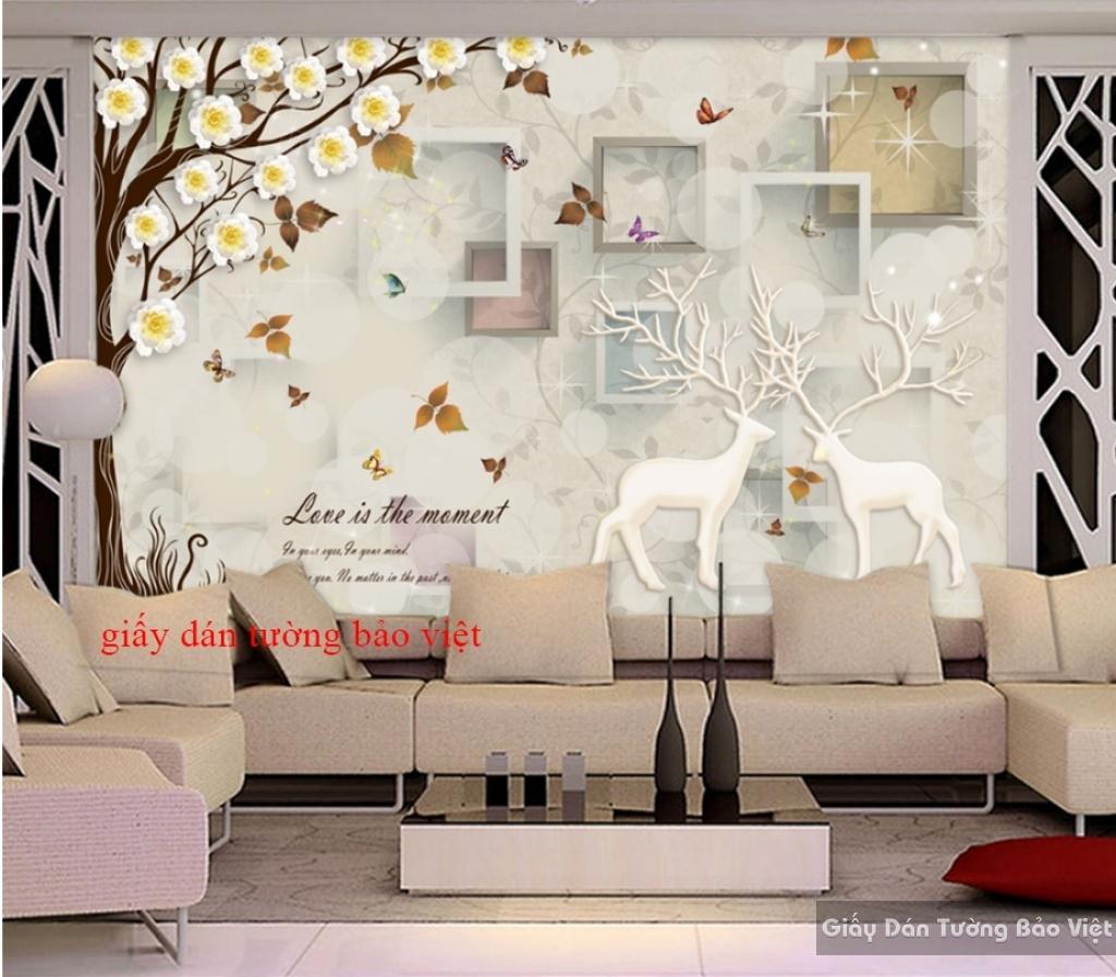 Giấy dán tường 3D đẹp giá rẻ K16597228