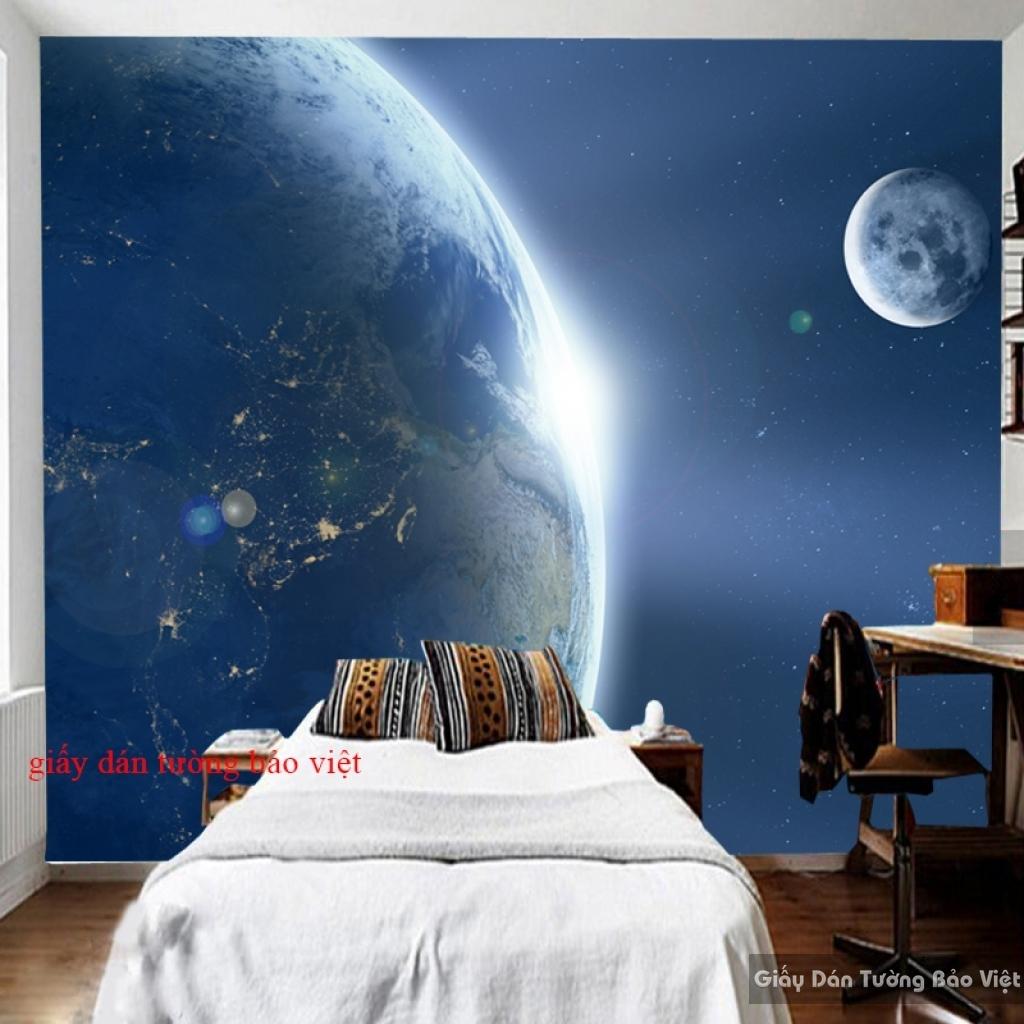 Giấy dán tường 3D galaxy đẹp G002