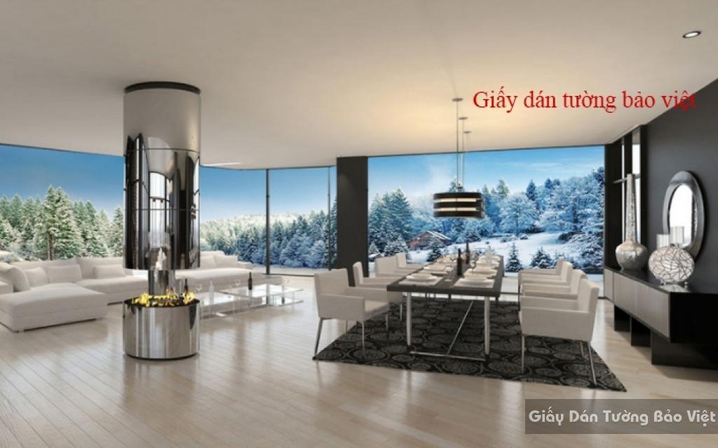 Giấy dán tường 3D panorama Fi033