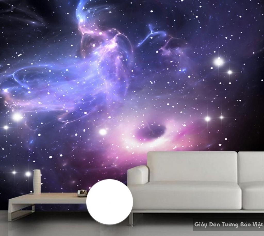 Giấy dán tường 3d galaxy s90296737