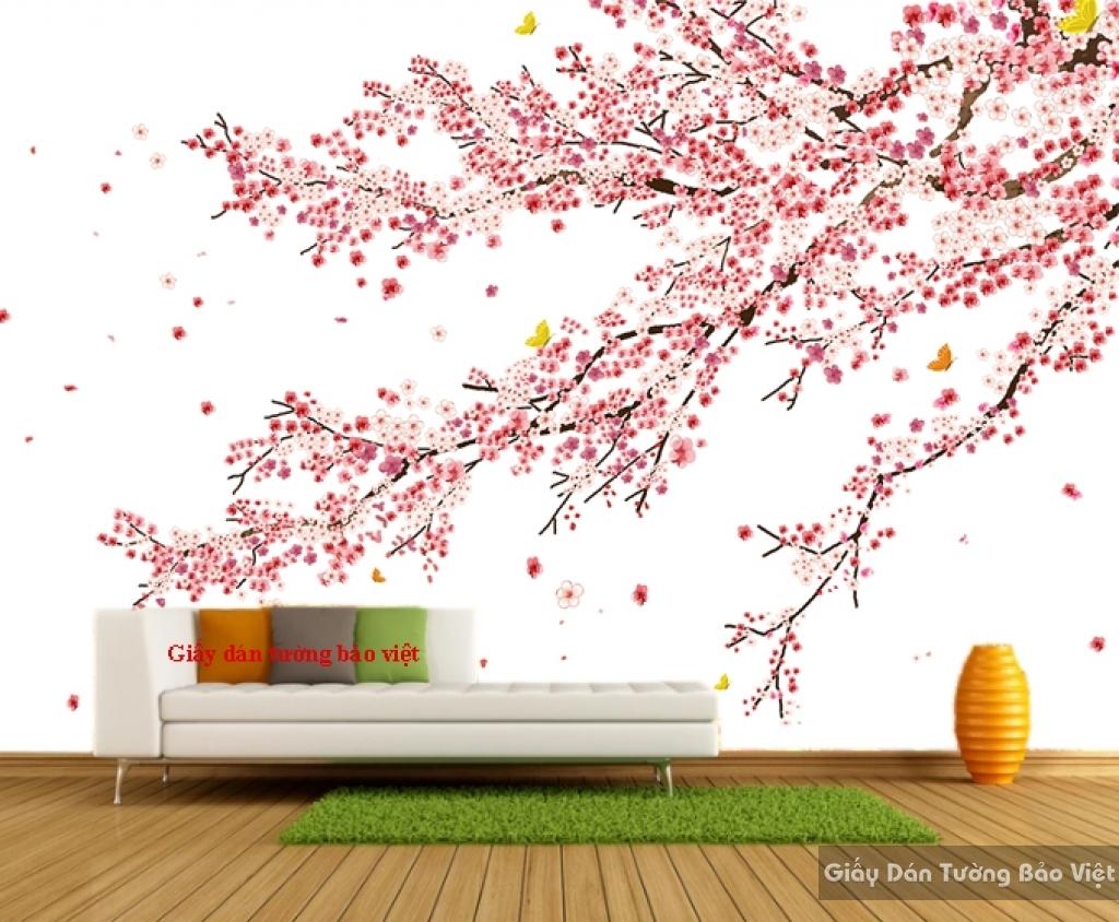 Giấy dán tường cho phòng ngủ Art007