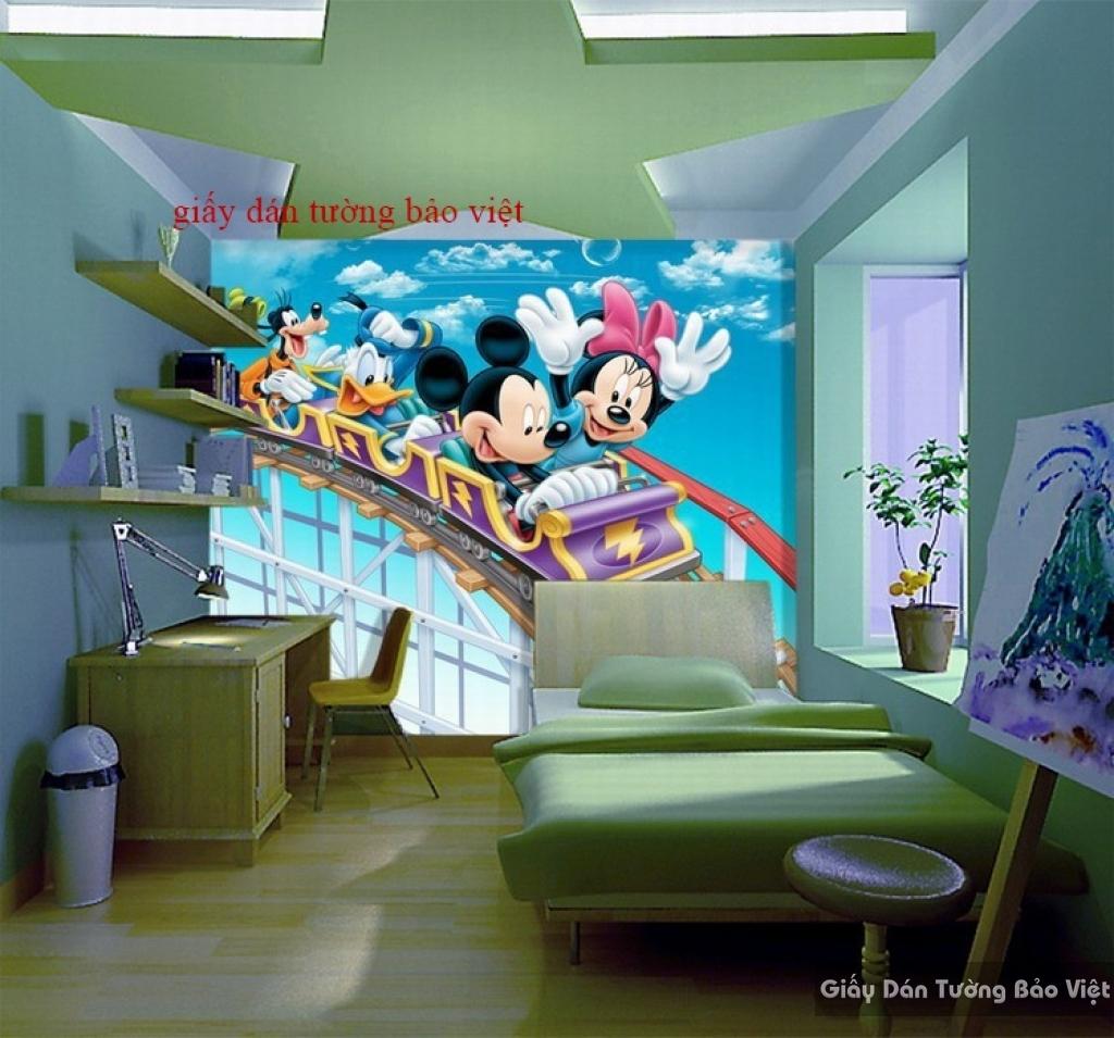 Giấy dán tường cho phòng trẻ em Kid064