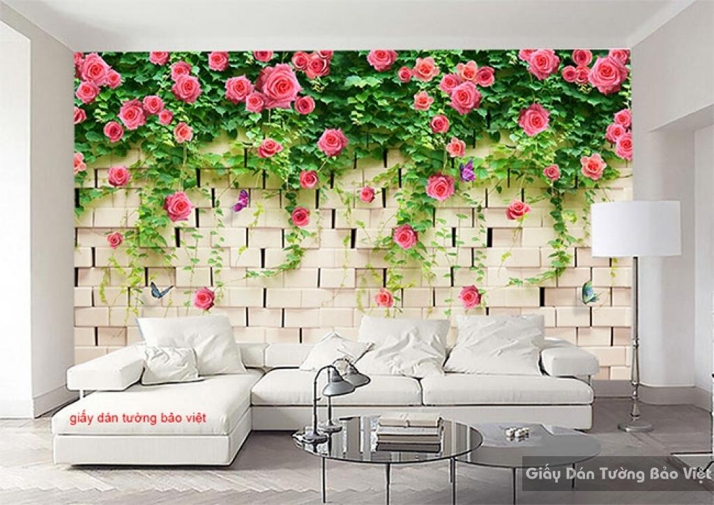 Giấy dán tường đẹp H160