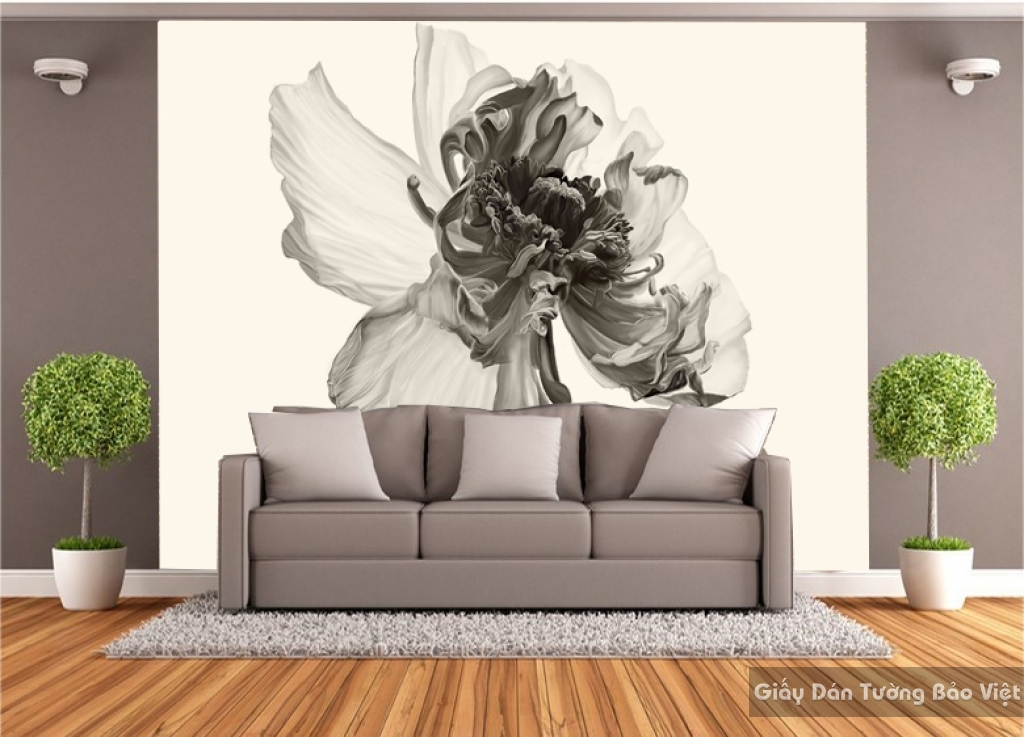 Giấy dán tường hoa H130