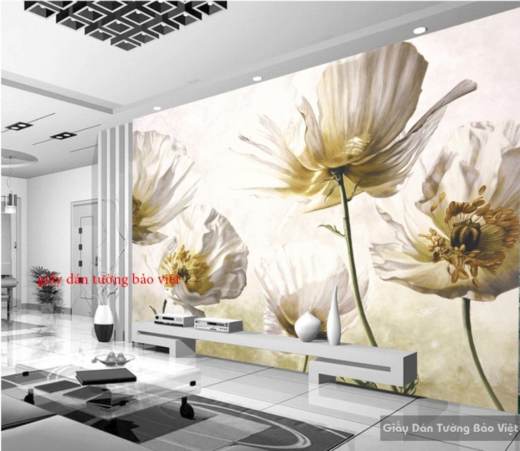 Giấy dán tường hoa K15657599