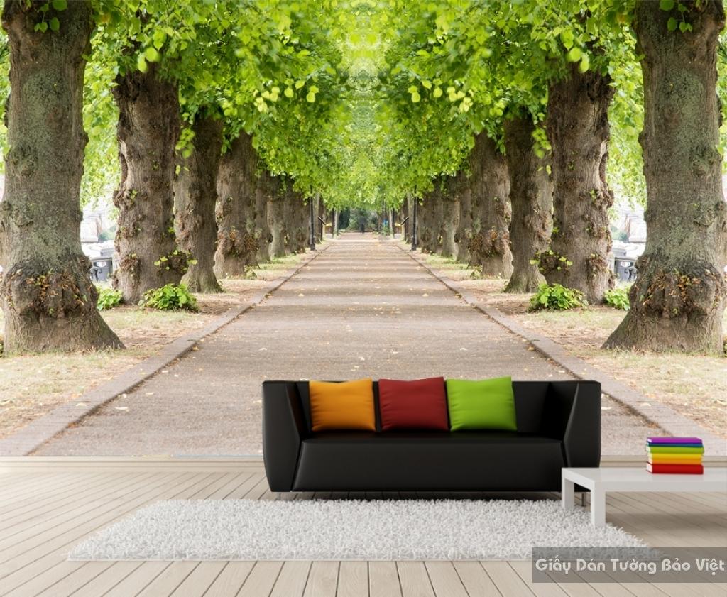Giấy dán tường phong cảnh thiên nhiên Tr063