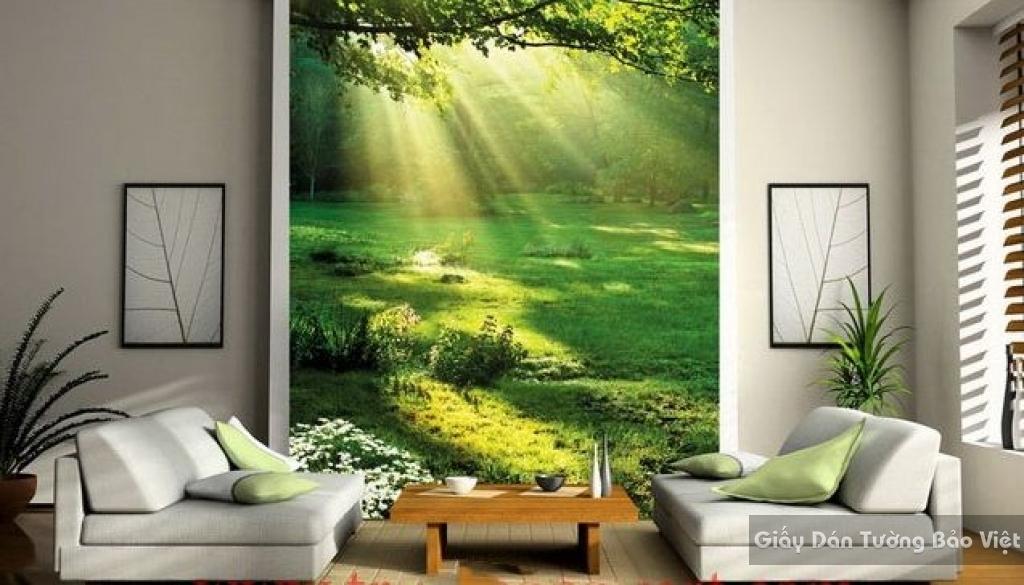 Giấy dán tường phòng khách 3D Tr003