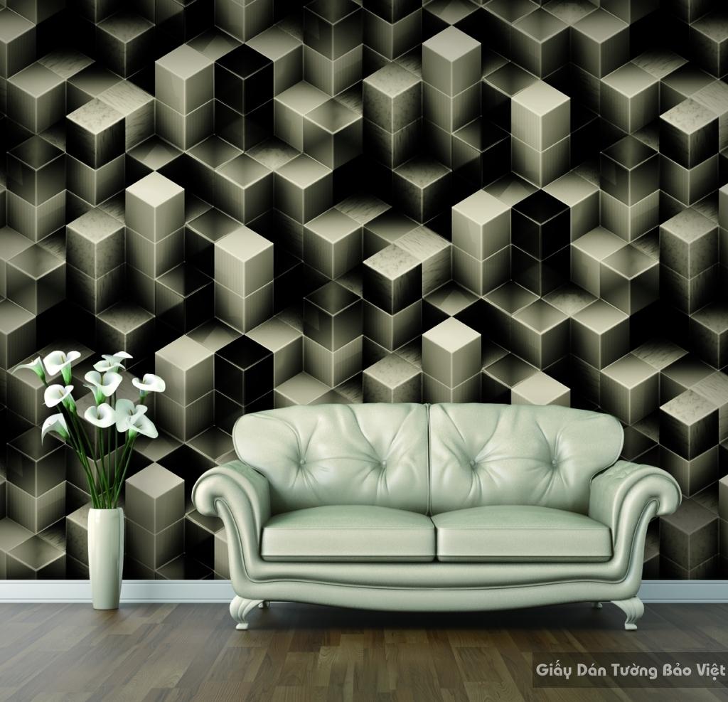 Giấy dán tường phòng khách 9908-2