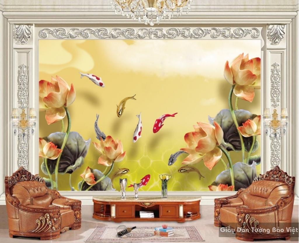 Giấy dán tường phòng khách k15049288