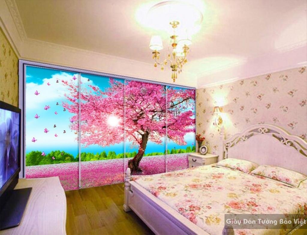 Giấy dán tường phòng ngủ 14324573