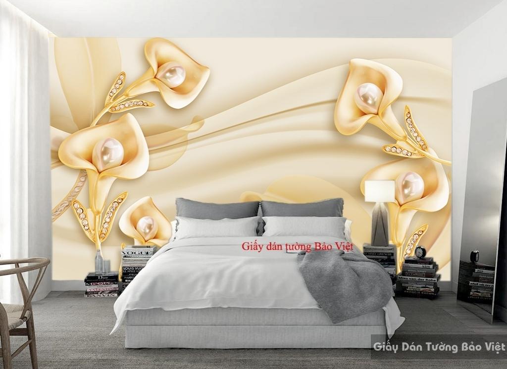 Giấy dán tường phòng ngủ 3D FL087