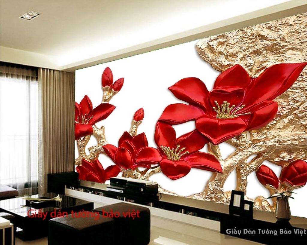 Giấy dán tường phòng ngủ 3D FL089