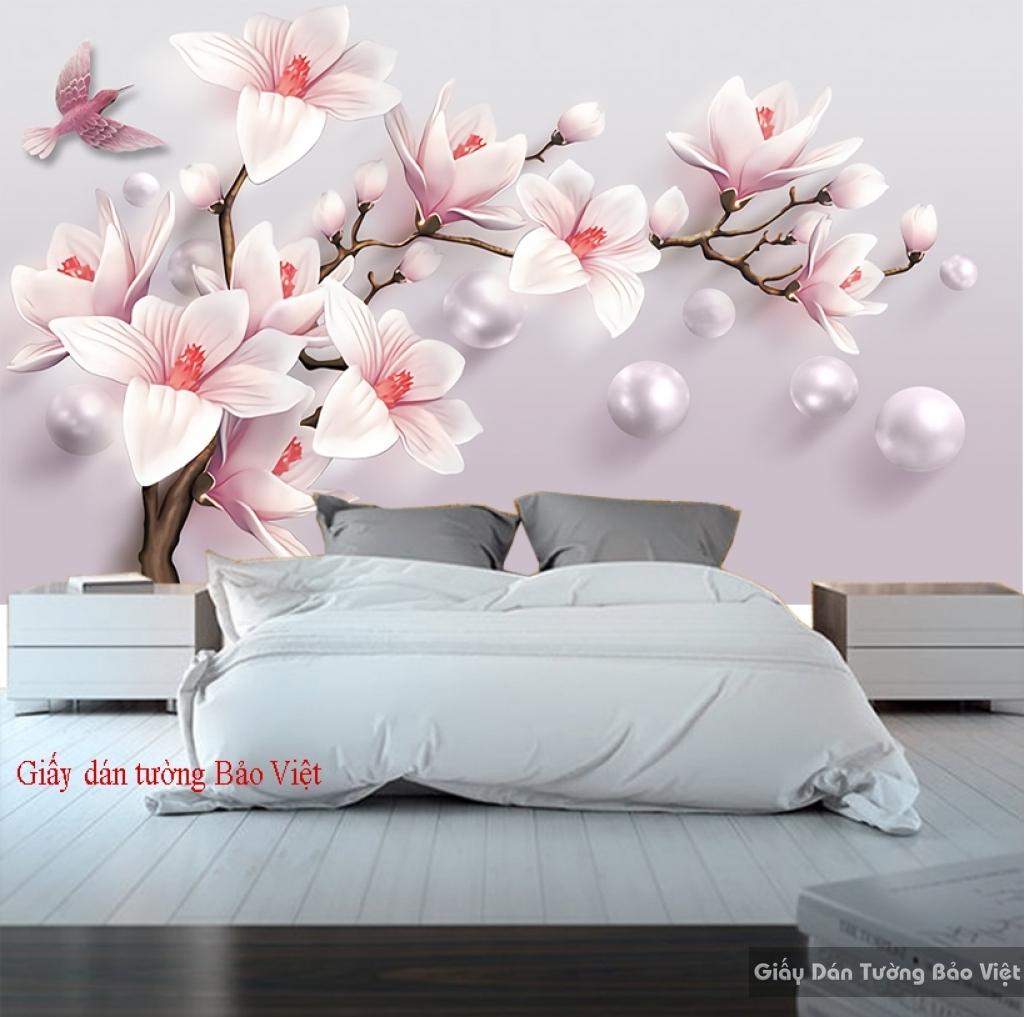 Giấy dán tường phòng ngủ 3D FL093