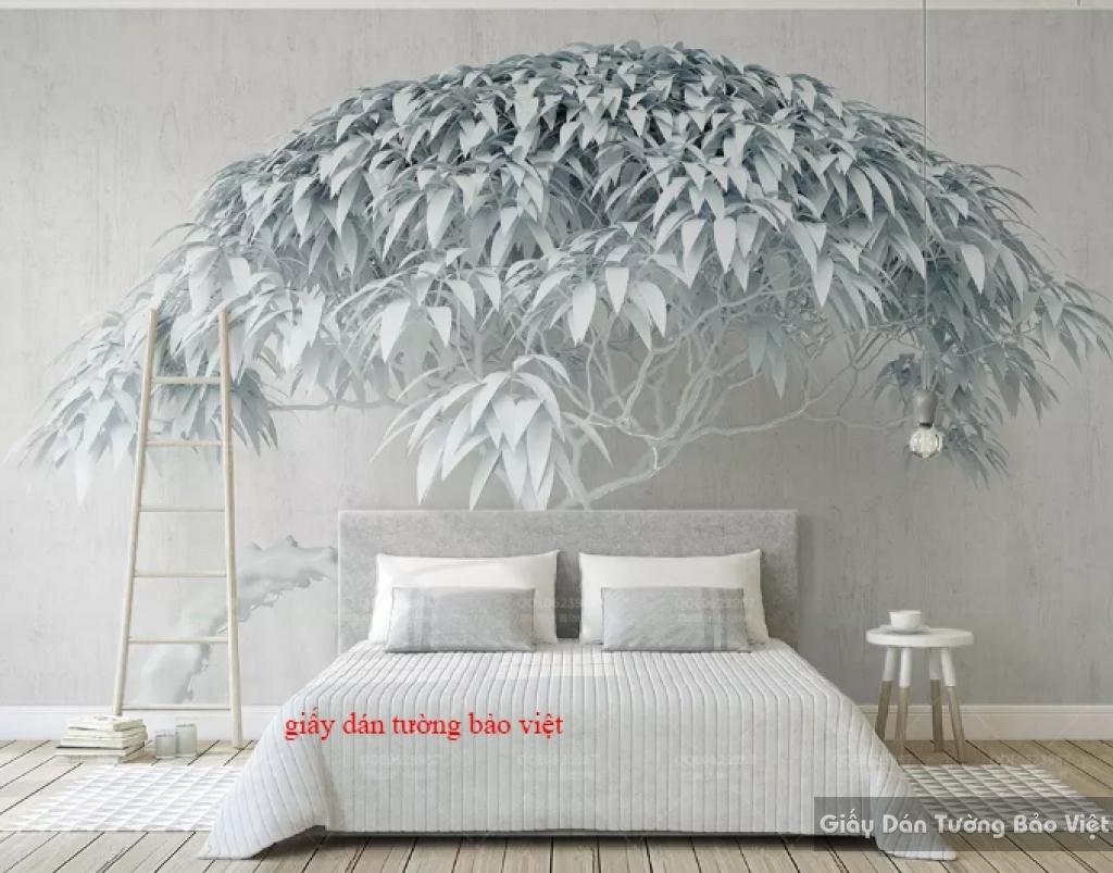 Giấy dán tường phòng ngủ 3D K18301262