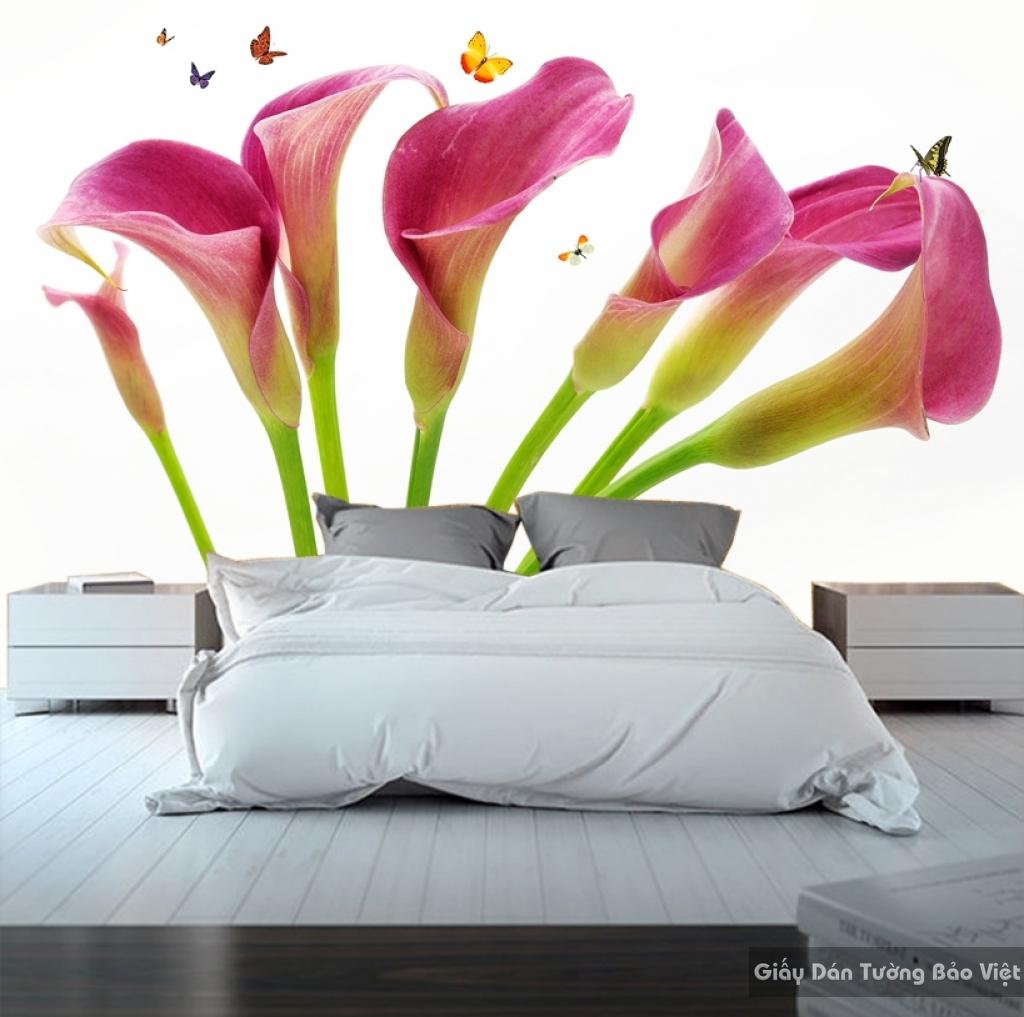 Giấy dán tường phòng ngủ 3D đẹp sang trọng H073