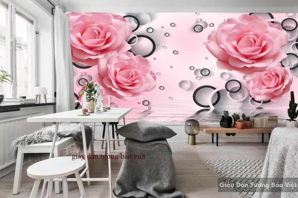 Giấy dán tường phòng ngủ FL062