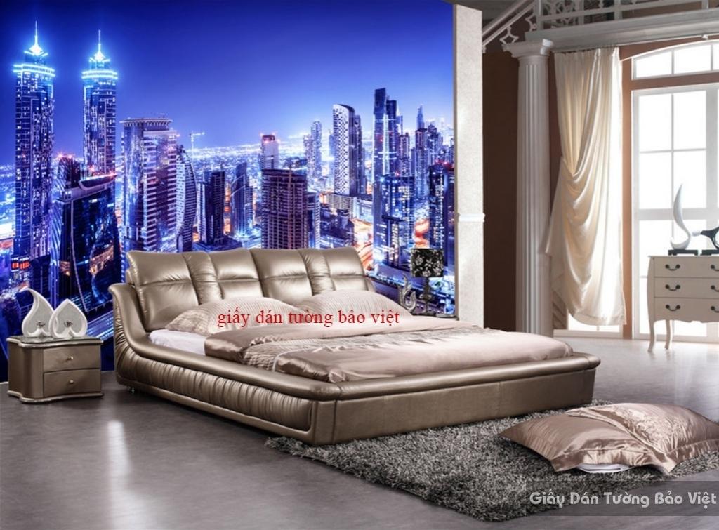Giấy dán tường phòng ngủ Fm097