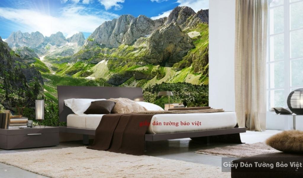 Giấy dán tường phòng ngủ đẹp Fm161