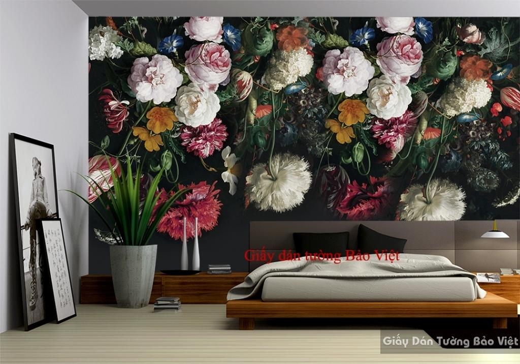 Giấy dán tường phòng ngủ đẹp H115