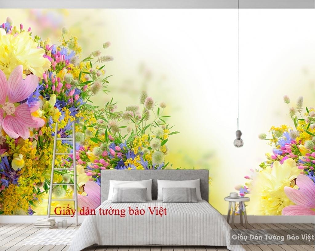 Giấy dán tường phòng ngủ đẹp H118