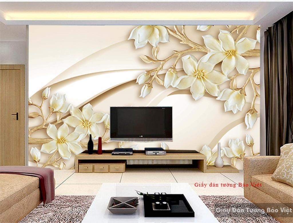 Giấy dán tường phòng ngủ đẹp H141