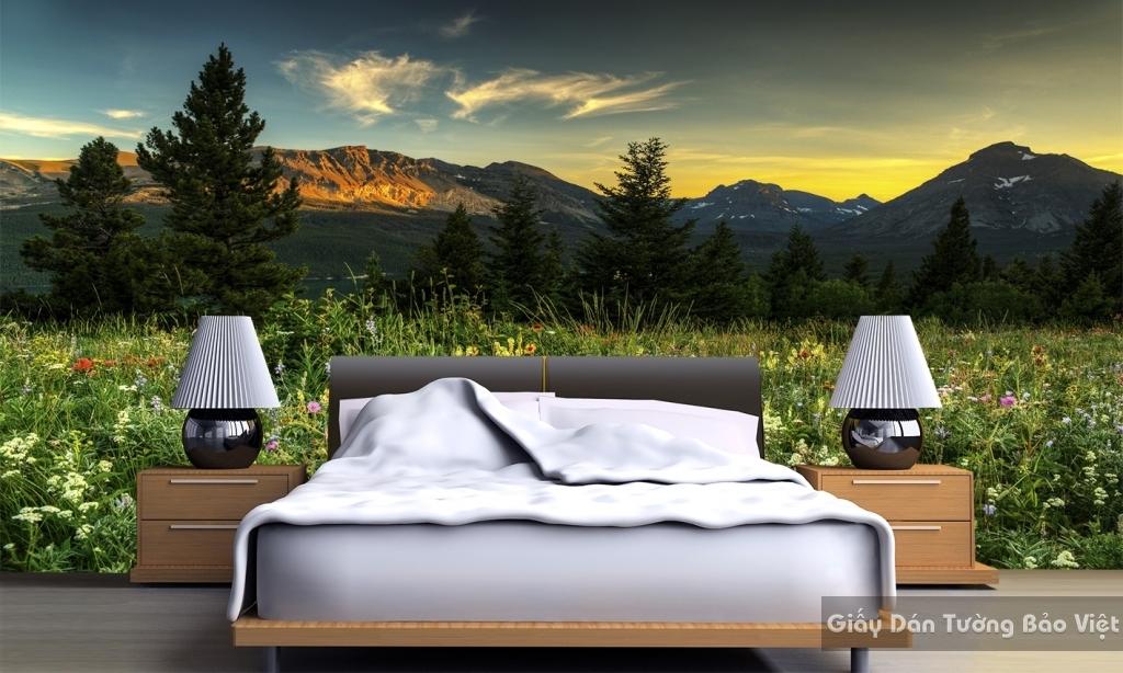 Giấy dán tường phòng ngủ đẹp M025