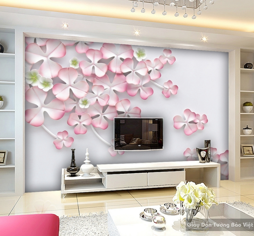 Giấy dán tường phòng ngủ k15766108