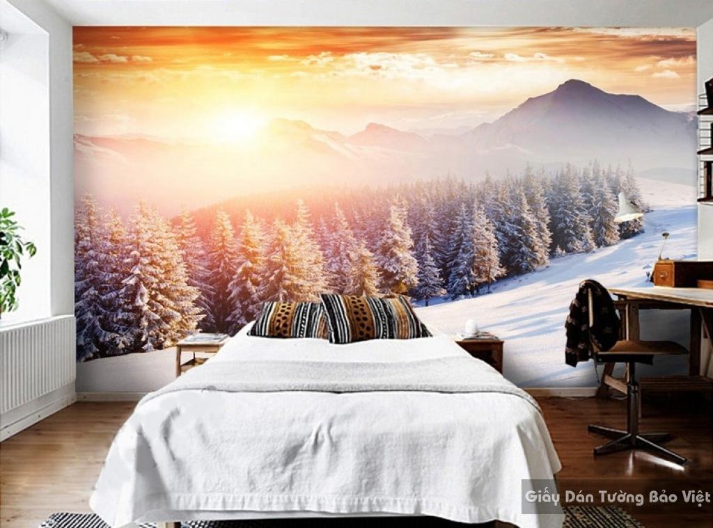 Giấy dán tường phòng ngủ phong cảnh s217659850