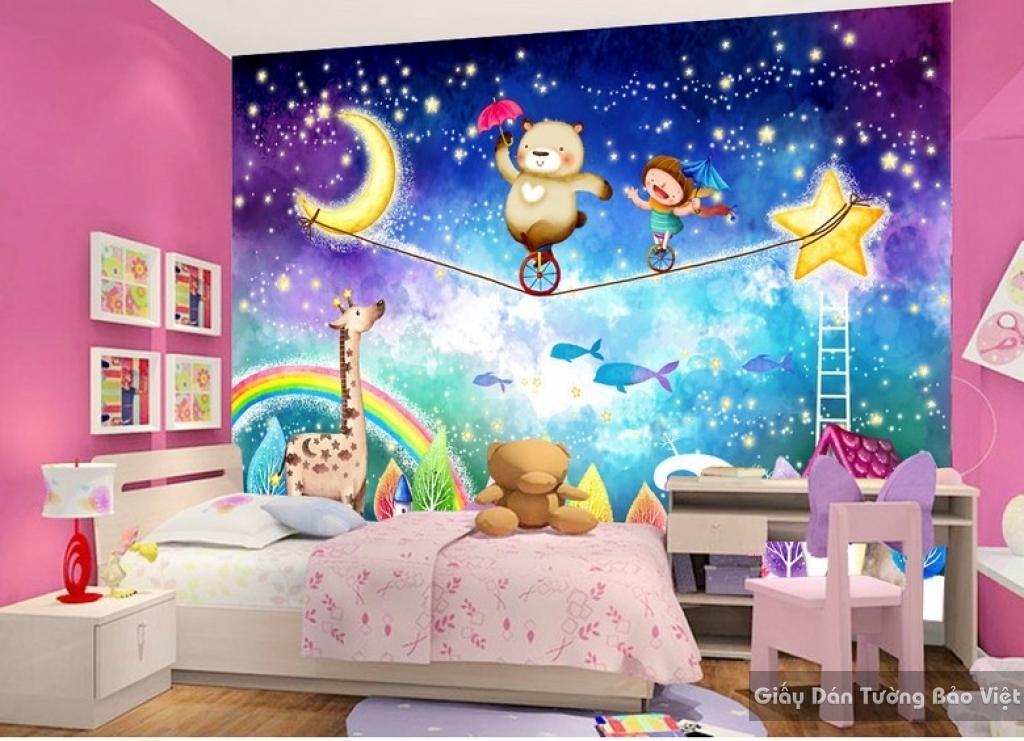 Giấy dán tường trẻ em Kid13526580